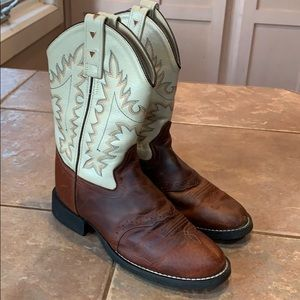 Kids cowboy boots youth 4